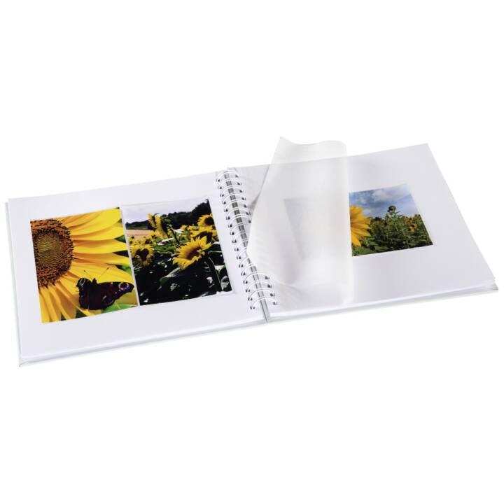 """Album a spirale HAMA """"Fine Art"""", 28x24 cm, 50 pagine bianche, nero"""