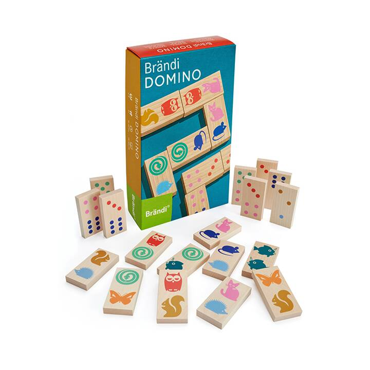 BRÄNDI Domino Gioco di posizionamento (DE)