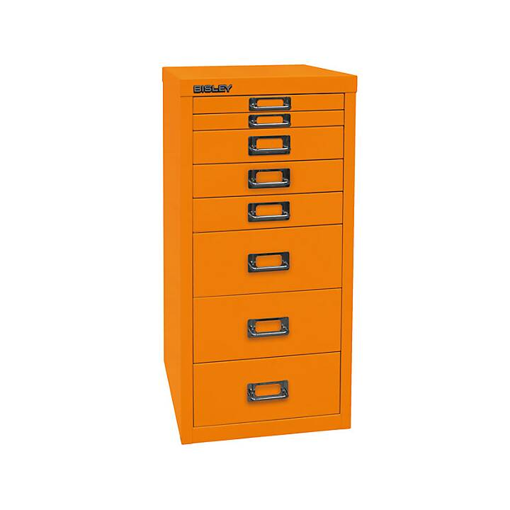 BISLEY MultiDrawer Schubladenbox (A4, Orange)
