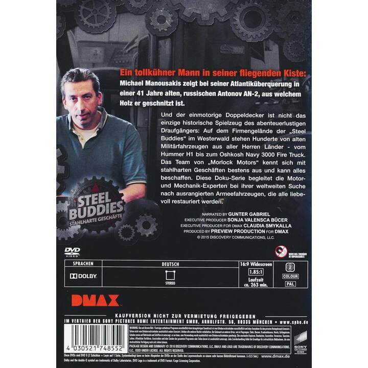 Steel Buddies - Stahlharte Geschäfte Staffel 3 (DE)