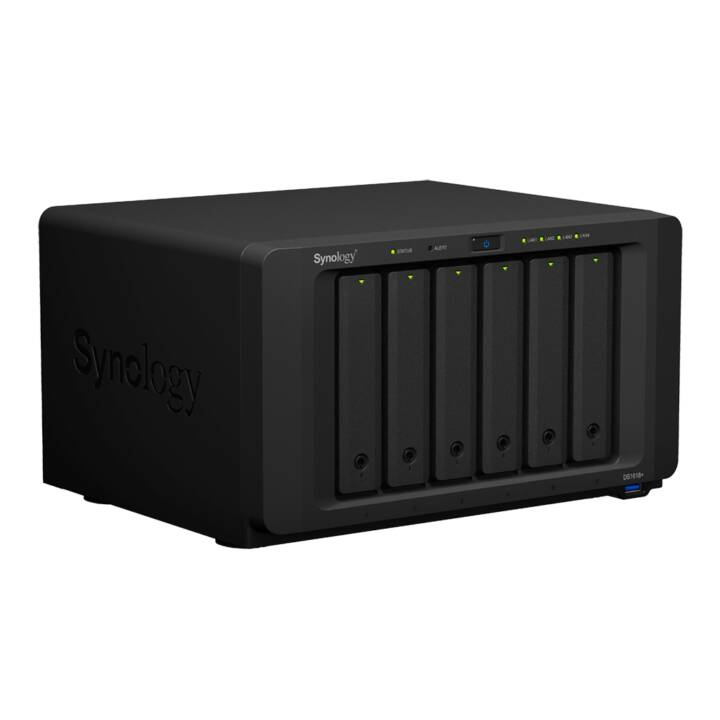 SYNOLOGY DS1618+ 6-bay inkl. WD Red & Samsung NVMe M.2 SSD, 48 TB
