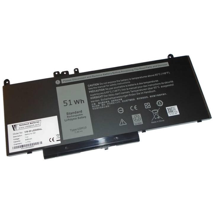 VISTAPORT Dell Latitude E5450/E5550 (6460 mAh)