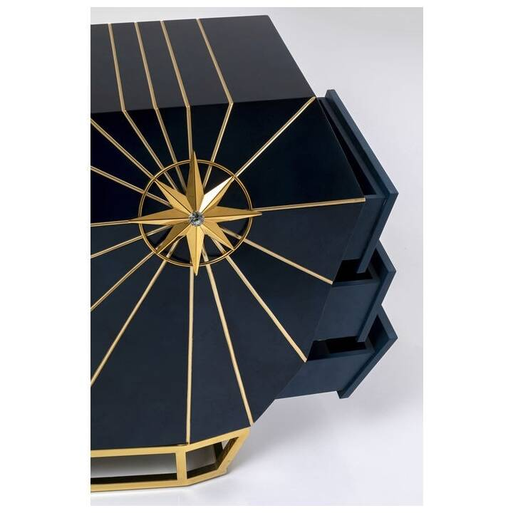 KARE Shine Bright Sideboard (79 cm x 173 cm x 46 cm)