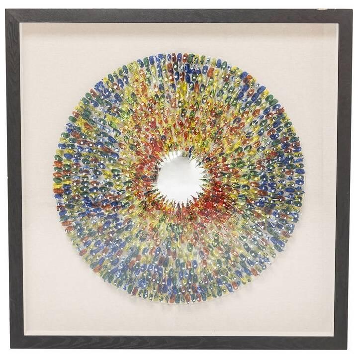 KARE Wandobjekt Colour Explosion (Mehrfarbig)