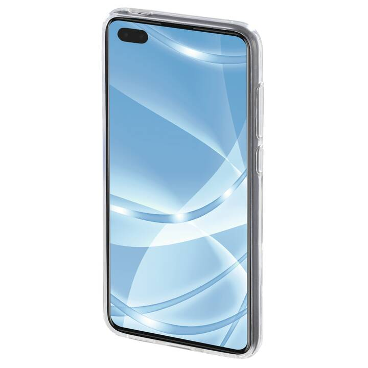 HAMA Backcover Crystal Clear (P40 Pro, Transparente)