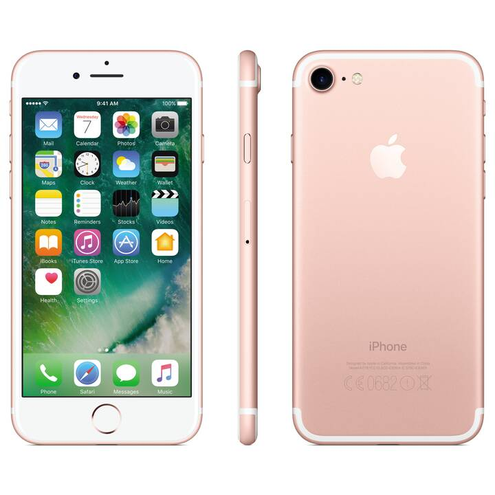 "APPLE iPhone 7 (4.7"", 128 GB, 12 MP, Roségold)"