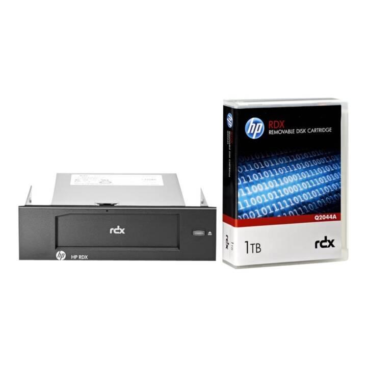 Sistema di backup su disco rimovibile HPE RDX USB 3.0