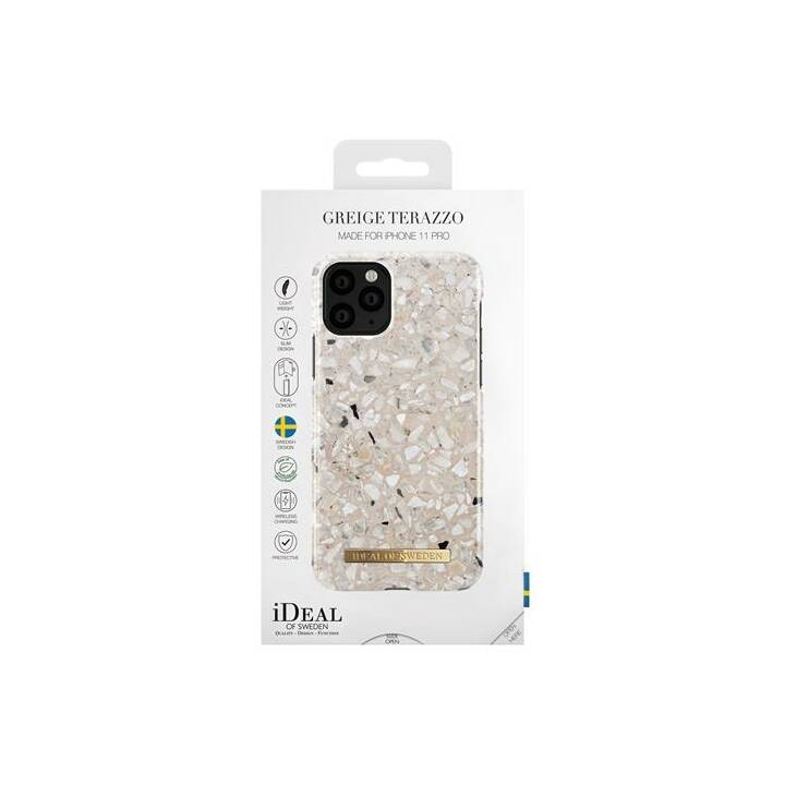 IDEAL OF SWEDEN Backcover Greige Terazzo (iPhone 11 Pro, Mehrfarbig)