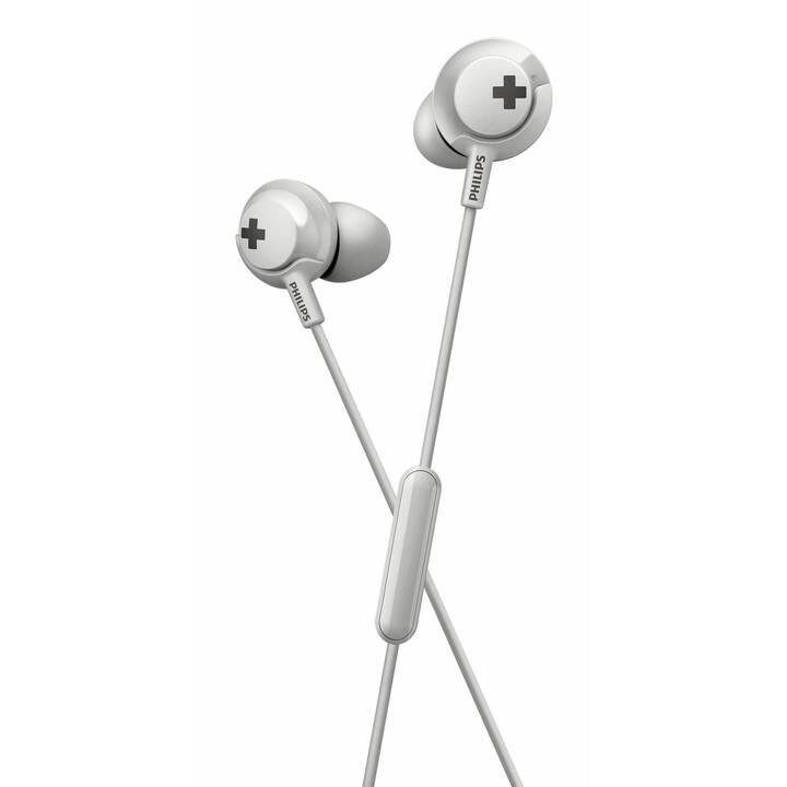 PHILIPS HE4305WT/00 (In-Ear, Blanc)