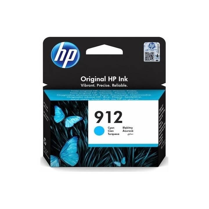 HP 912 (Cyan, 1 Pièce)