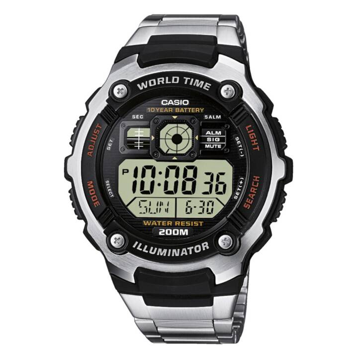 CASIO COLLECTION AE-2000WD-1AVEF (42.7 mm, Orologio digitale, Quarzo)