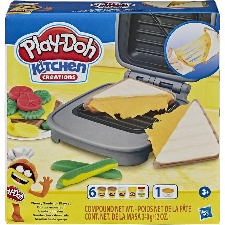 PLAY-DOH Modellieren Sandwichmaker (Mehrfarbig)