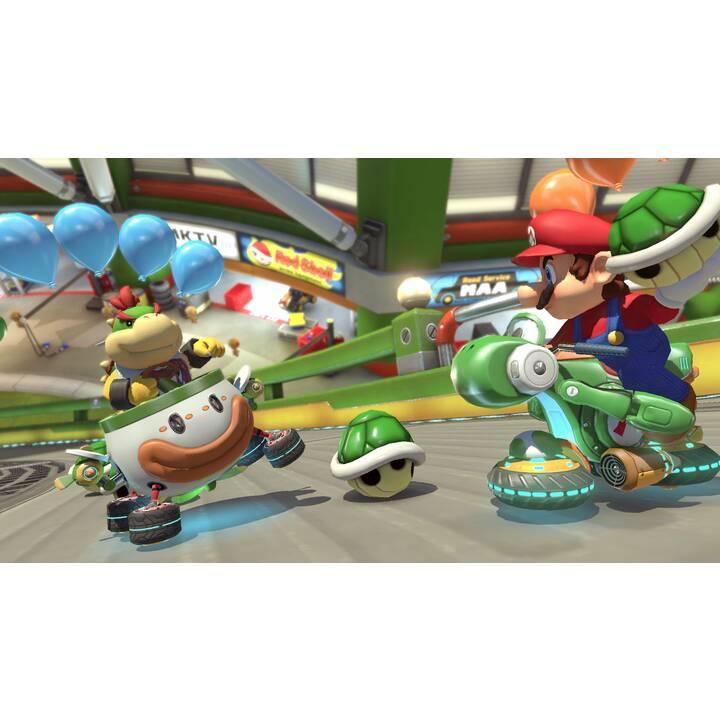 NINTENDO Switch New Grey + Mario Kart 8 Deluxe 32 GB (Tedesco)