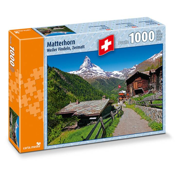 CARTA.MEDIA Matterhorn Puzzle