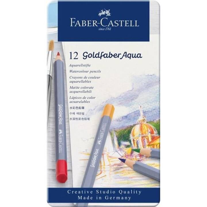 Matite acquerello FABER-CASTELL matite Goldfaber 12 custodia per pittura