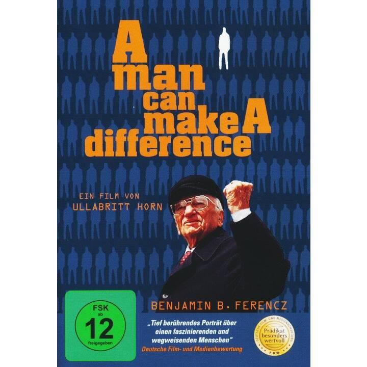 A man can make a difference (DE, EN)