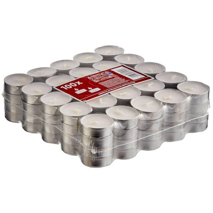 COOP Candela per la luce del tè (Bianco, 100 pezzo)