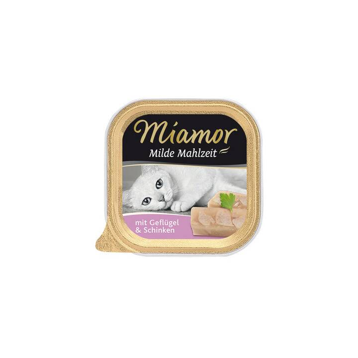 MIAMOR Milde Mahlzeit (Adulto, 100 g, Maiale, Pollame)