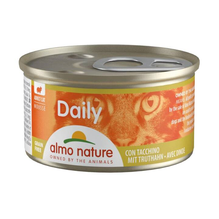 ALMO NATURE Daily Mousse (Adulte, 85 g, Dindon)