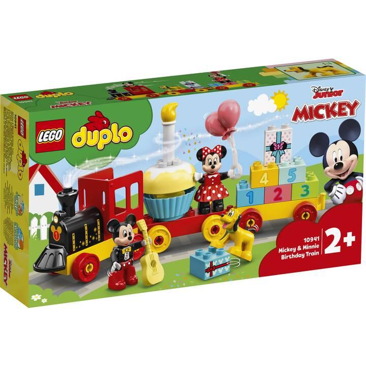 LEGO DUPLO Il treno del compleanno di Topolino e Minnie (10941)