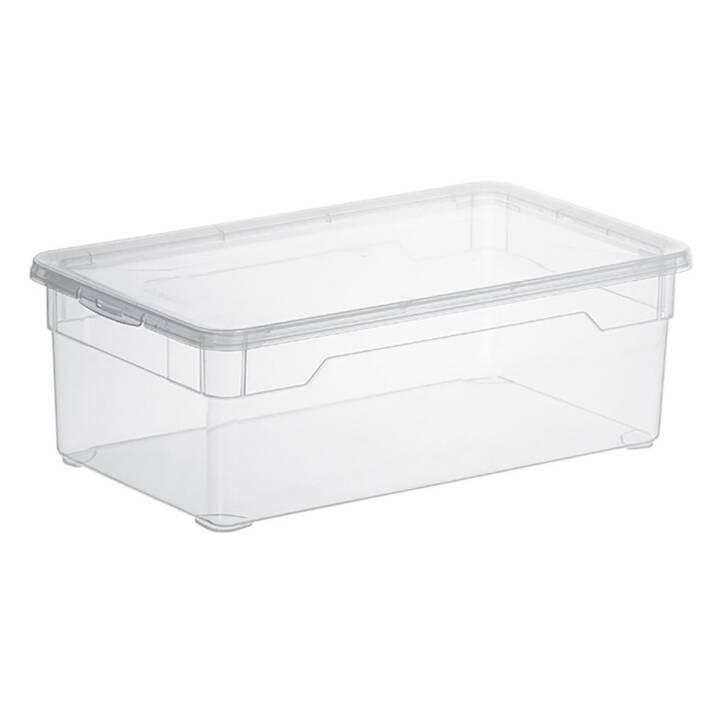 ROTHO Clear Aufbewahrungsbox (Transparent)