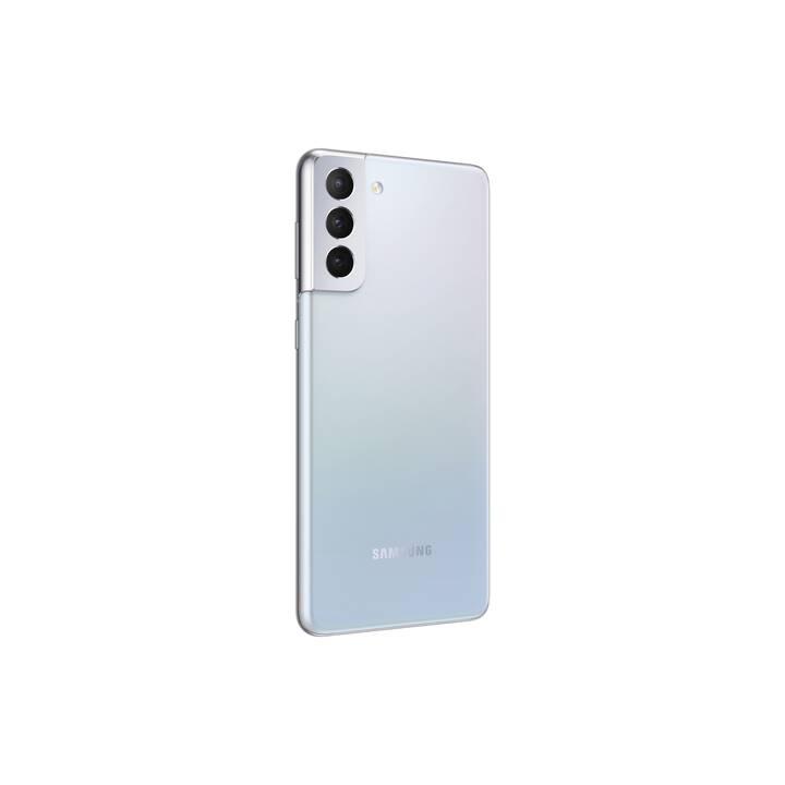 "SAMSUNG Galaxy S21+ (5G, 6.7"", 256 GB, 64 MP, Phantom Silver)"