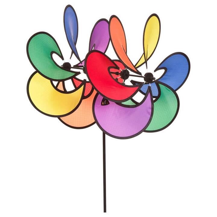 INVENTO-HQ Windrad Flower Duett (Blume, 82 cm)
