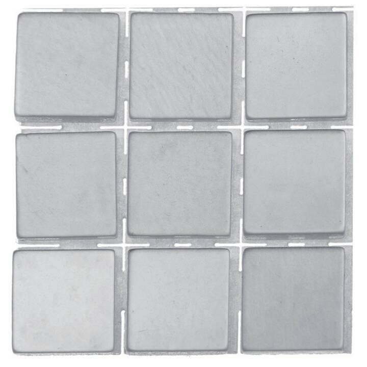 GLOREX Poly-Mosaic 10 mm argent 10 mm