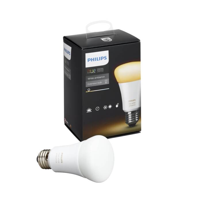 PHILIPS HUE Ampoule LED (E27, 9.5 W)