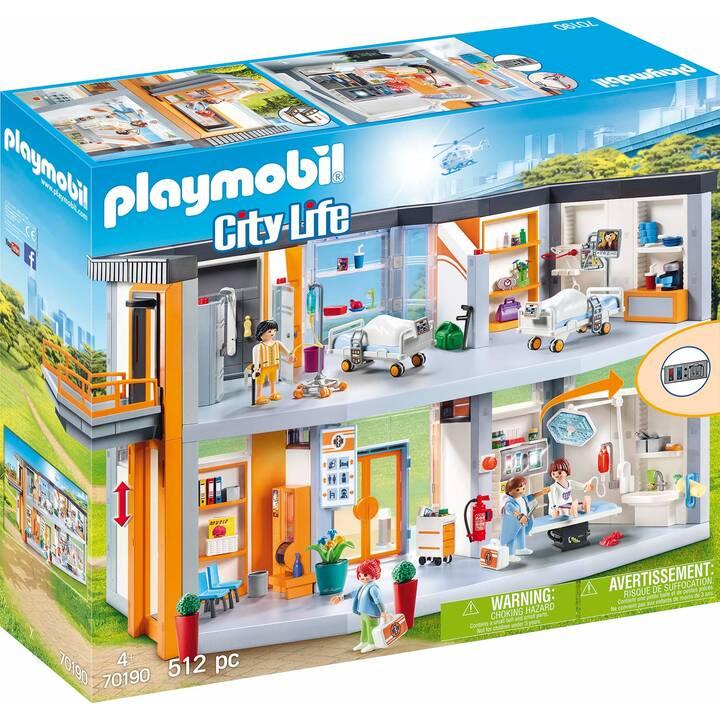 PLAYMOBIL City Life Hôpital aménagé (70190)