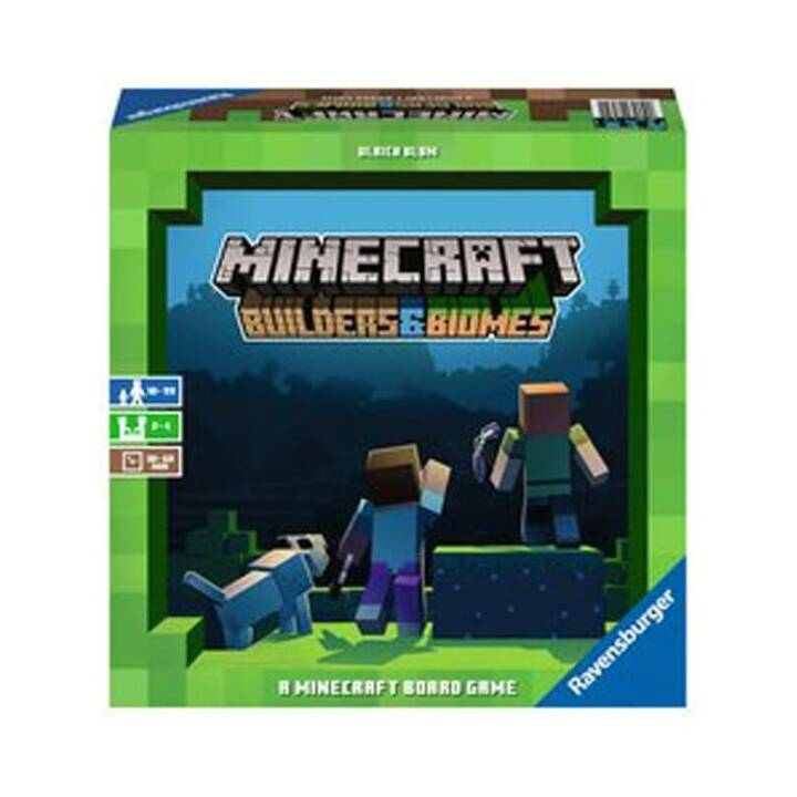RAVENSBURGER Minecraft  Jeu de placement