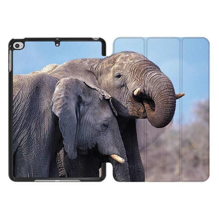 EG MTT Coque pour iPad Mini 4 (2015) et Mini 5 (2019) - Éléphant