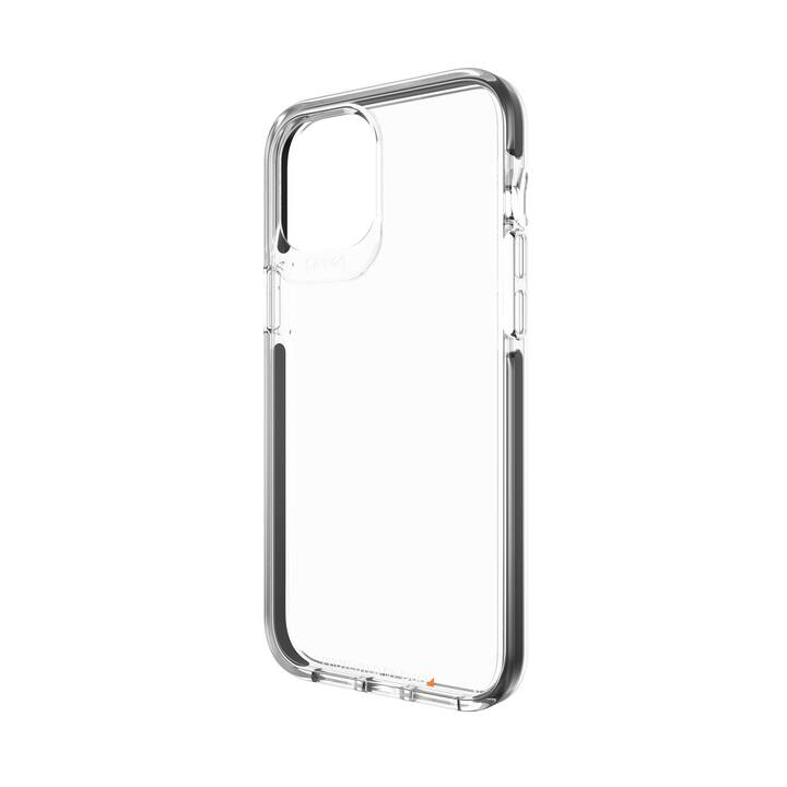 GEAR4 Backcover Piccadilly (iPhone 12 Pro Max, Antibatterico, Transparente, Nero)