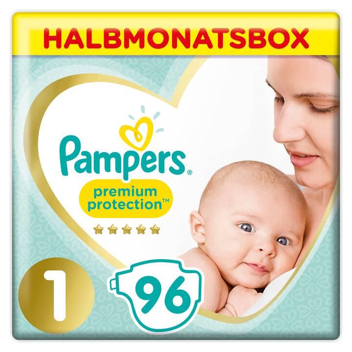 PAMPERS Neugeborenenwindel Premium Protection 1 (96 Stück)