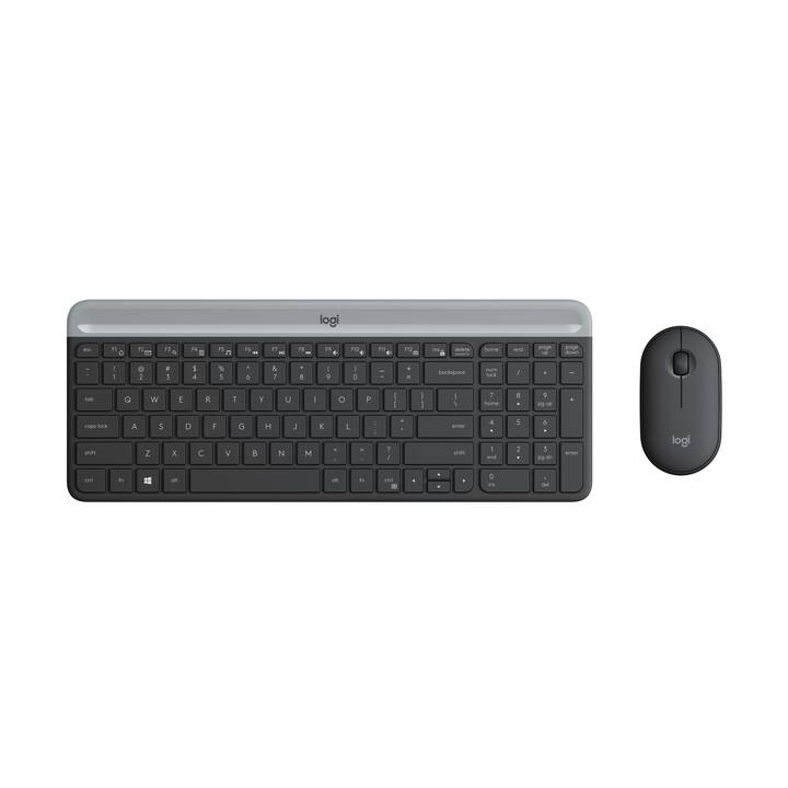 LOGITECH MK470 (USB, CH, Kabellos)