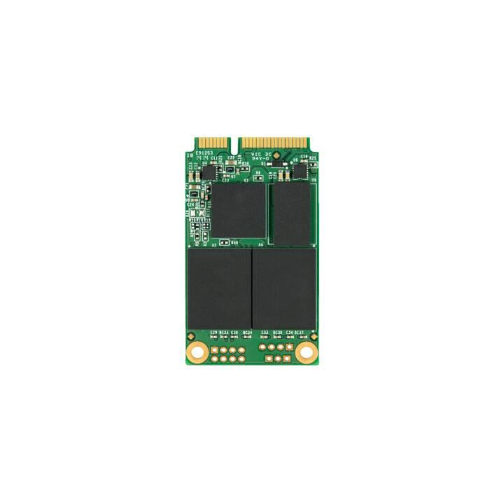 TRANSCEND MSA370 (mSATA, 256 GB, Verde, Nero)