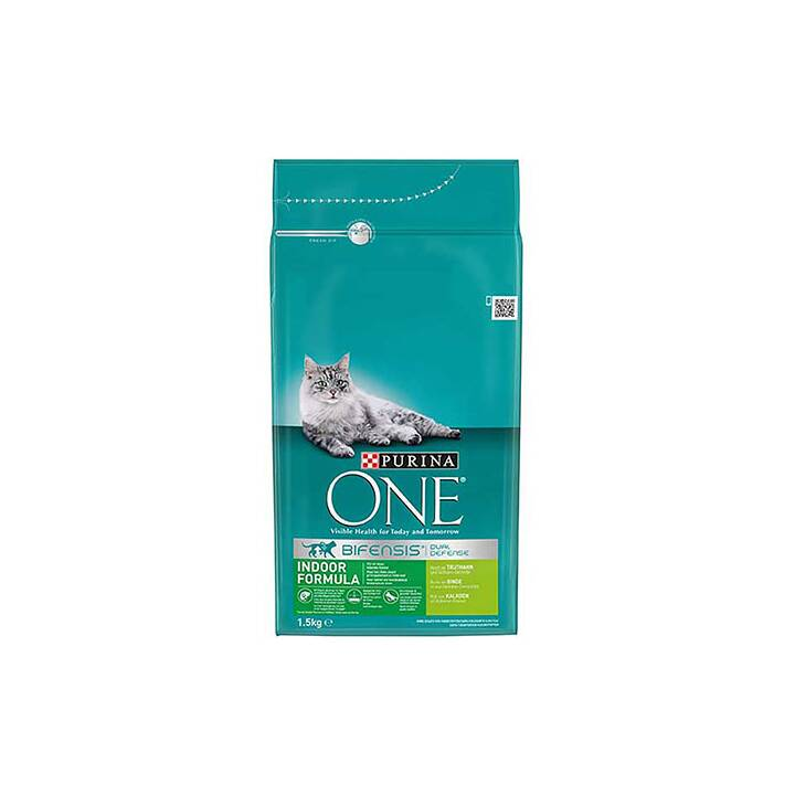 PURINA ONE Indoor Truthan & Vollkorn 1.5KG