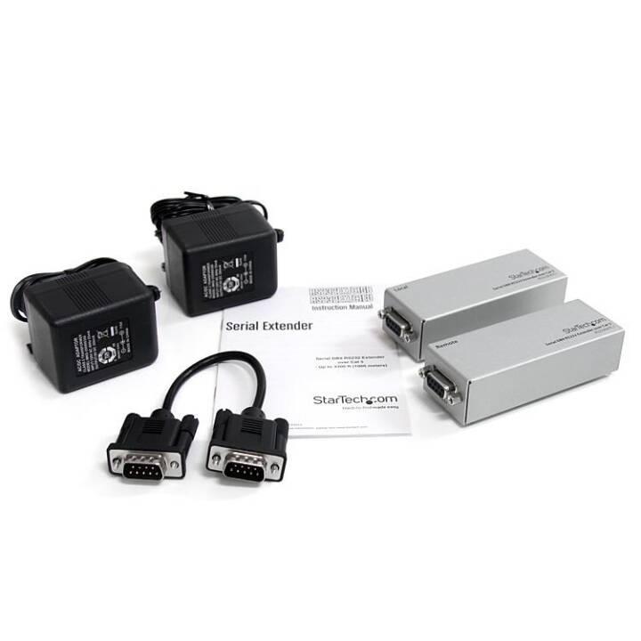 STARTECH.COM DB9 RS232 (Power Injector)