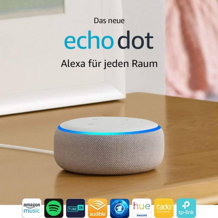 AMAZON Echo Dot, 3ème génération, import, blanc.