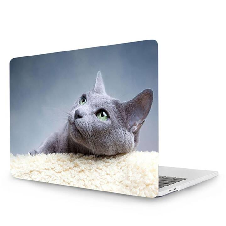 "EG MTT Cover pour MacBook Pro 13"" Touch Bar - Cat"