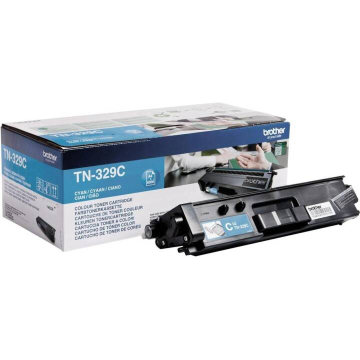 BROTHER TN-329C  (Toner seperato, Ciano)