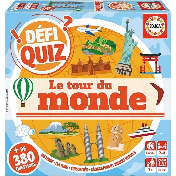 EDUCA Defi quiz - Le tour du monde (FR)