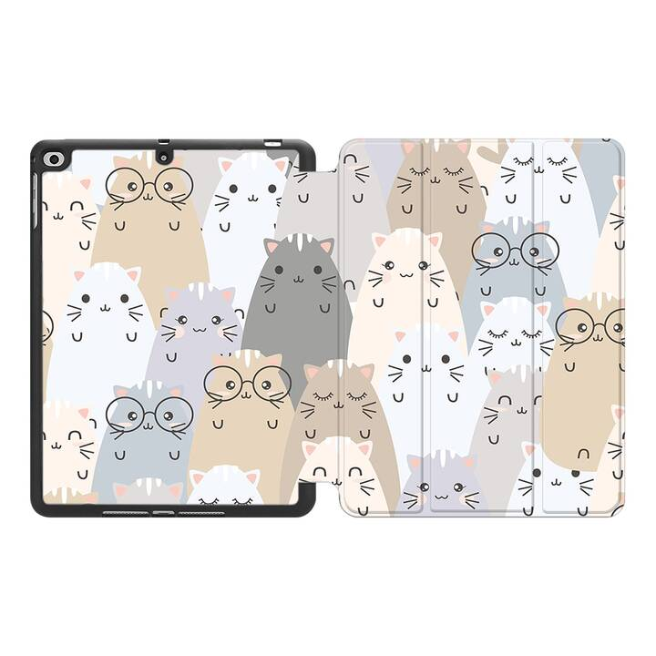 "EG MTT Coque pour Apple iPad Air 3 2019 10.5"" - Cartoon"