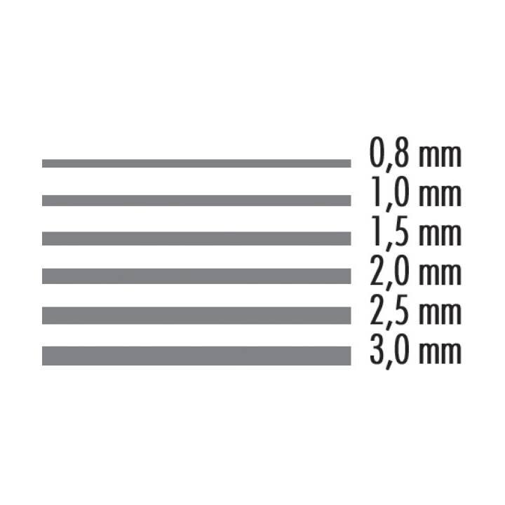 NEUTRE carton gris, 3 mm, 110 x 80 cm, 1890 g/m2