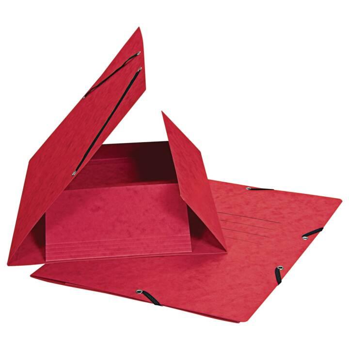 Cartella elastica BIELLA A4 rosso