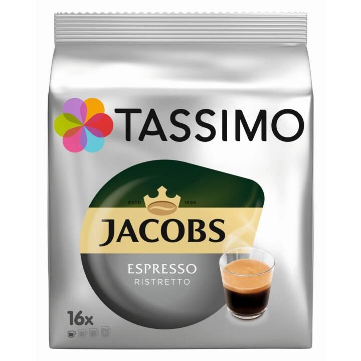 TASSIMO Capsules de Café Ristretto Jacobs (16 Pièce)