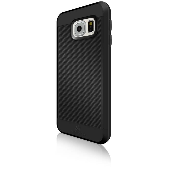 BLACK ROCK Backcover Real Carbon (Galaxy S7, Nero)
