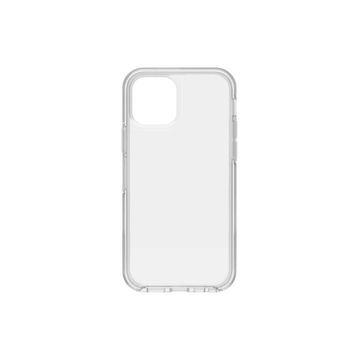 OTTERBOX Backcover Symmetry Clear (iPhone 12 Pro, iPhone 12, Transparente)