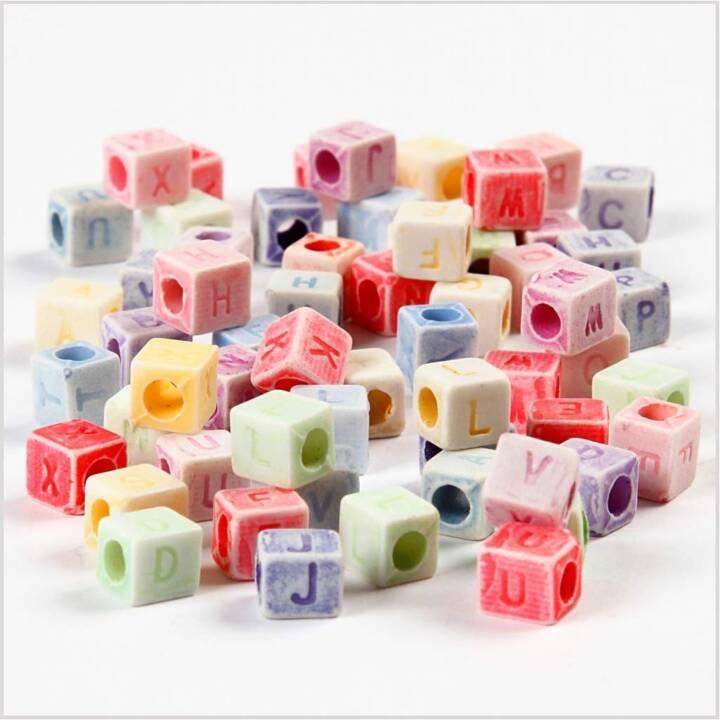 CREATIV COMPANY Perle (Plastica, Multicolore)