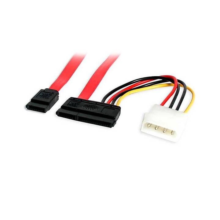 STARTECH.COM Netzwerkkabel (TT 4-polig, SATA, 45.7 cm)